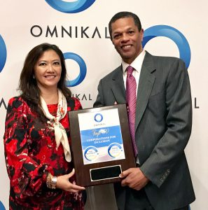 Estrella Cramer, Director Supplier Diversity at UPS and Kenton Clarke, President & CEO at OMNIKAL