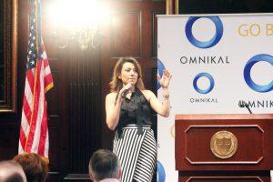 Liliana Gil Valletta, CEO of CIEN+ (Formerly XL ALLIANCE) presenting keynote address.
