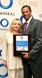 Marion Hindenburg, President of Mrs. Paper and Kenton Clarke, President & CEO at OMNIKAL