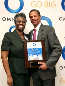 Melanie Gunn, Assistant Manager, Supplier Diversity at Time Warner and Kenton Clarke, President & CEO at OMNIKAL
