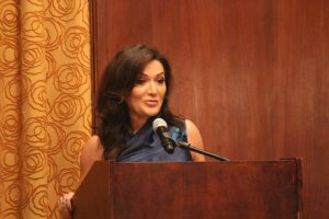 Nina Vaca, Chairman and Chief Executive Officer of Pinnacle1 presenting keynote address.
