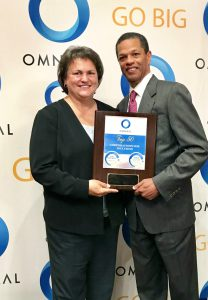 Sherrie Matthews, President of PrintSolutions, Inc. and Kenton Clarke, President & CEO at OMNIKAL