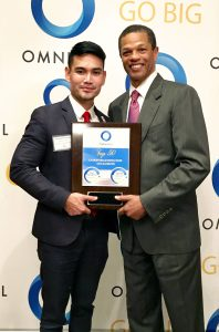 Wax Frias-Louden, Business Development Executive Support at ePerformax Contact Centers and BPO and Kenton Clarke, President & CEO at OMNIKAL