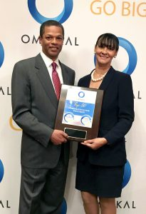 Yvette Mouton, Supplier Diversity Manager at AT&T and Kenton Clarke, President & CEO at OMNIKAL