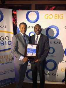 Kenton Clarke, President & CEO at OMNIKAL and Jay Burks, Director of Supplier Diversity at Comcast