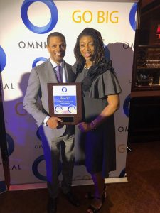 Kenton Clarke, President & CEO at OMNIKAL and Priscilla Wallace, Director, Manager, Supplier Diversity at Compass Group