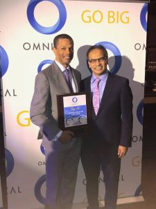 Kenton Clarke, President & CEO at OMNIKAL and Aziz Ahmad, CEO and President at UTC Associates
