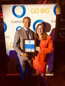 Kenton Clarke, President & CEO at OMNIKAL and Darcy Flanders, CEO at BaselineGroupNY