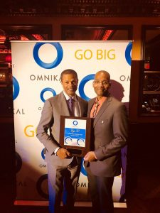 Kenton Clarke, President & CEO at OMNIKAL and Frantz Tiffeau, Director of Supplier Diversity at Nationwide Insurance