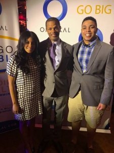 Kendra Clarke; Kenton Clarke, President & CEO at OMNIKAL and Kenton Clarke Jr.